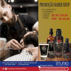 Kit completo BarberShop