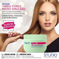 Three Force Micro Emulsão 300g Plus