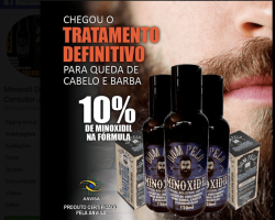 MINOXIDIL 120 ml - KIT COM 15 UNIDADES