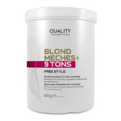 Blond Meches+ 9 Tons Freestyle 400g